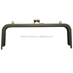 bag making metal clasp frame clutch purse hardware