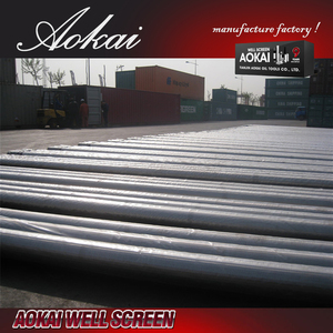 "Sand control stainless steel filter johnson screen pipes 2 7/8"""" AK with great price"