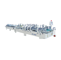 Selling Good Quality Corrugated Paperboard Automatic Folder Gluer With Prefold Machine