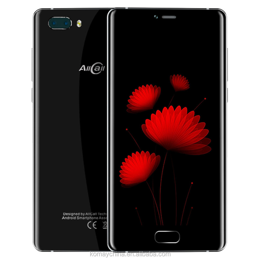 Allcall Rio S Smartphone 4G Lte MTK6737 Quad core 2GB RAM 16GB ROM Android 7 big battery Dual rear camera Mobile phone Unlocked