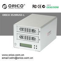 ORICO 3529RUS3-L 2 bay 3.5