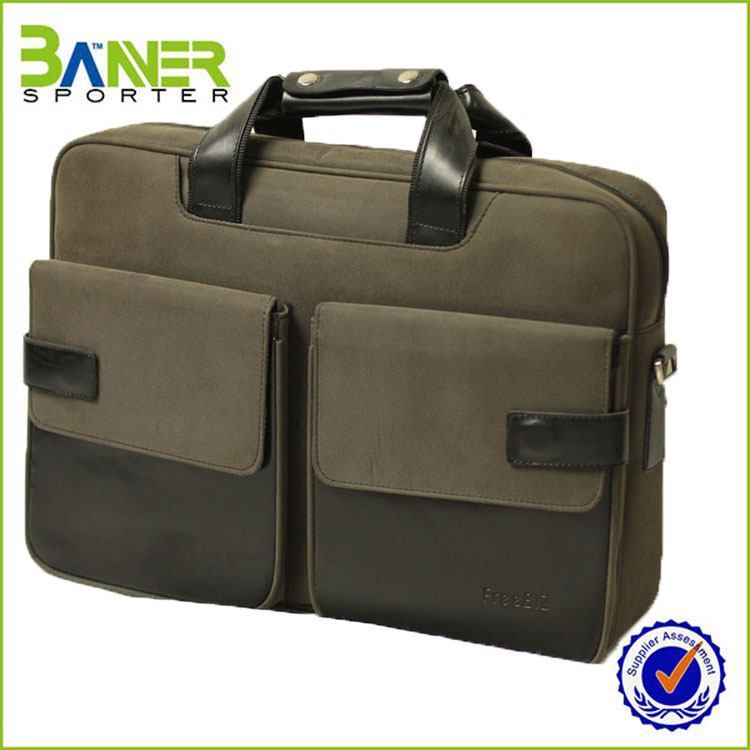 2016 high quality Nylon waterproof laptop messenger bag