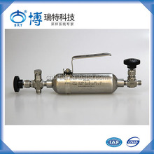 High Quality High Pressure Gas Cylinder Tube Sample Cylinders Accessories Outage Tubes