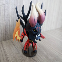 OEM make Plastic Dota 2 action figure toy/plastic rude anime Pudge custom figure