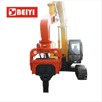 Hydraulic vibration pile driver for sale