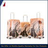 2016 gorgeous Printed Eiffel Tower pattern pc trolley luggage bags&cases