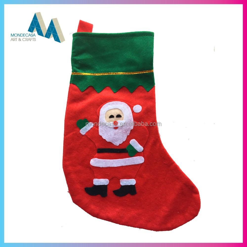Feliz navidad de navidad calcet n suministros de - Calcetin de navidad ...