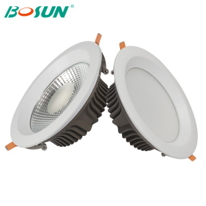 Hot-sale Commercial lighting recessed cob/smd led downlights with 3 years warranty