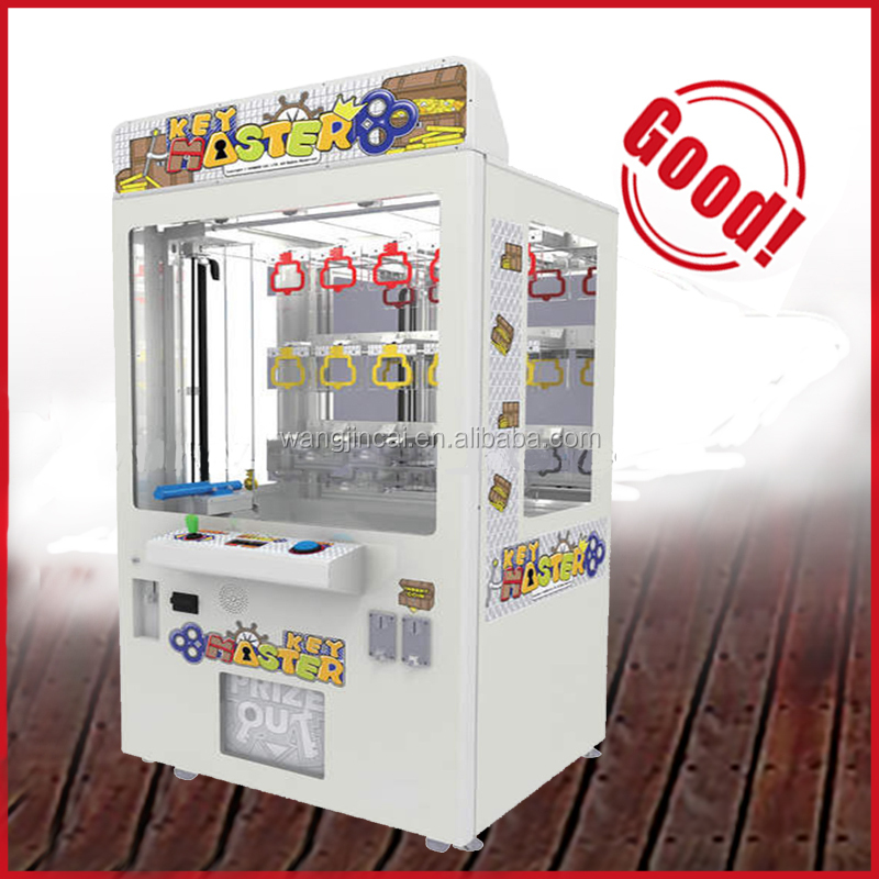 indoor electric mini key master game machine with bill acceptor and GSM wifi vending machine crane claw machine for sale