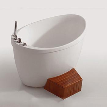 Hs-b1801t 1200mm Badewanne / Kleine Badewanne Mit Dusche / Einzelbadewanne  Oval - Buy 1200mm Badewanne,Kleine Badewannen Mit Dusche,Einzigen Badewanne  ...