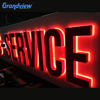 lighted letter signs 3d backlit led steel letters sign board buy 3d backlit 23445 | 3D backlit LED steel letters sign board.jpg 350x350