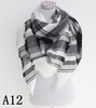 Soft Warm Tartan Plaid Scarf Shawl Cape Blanket Scarves Fashion Wrap