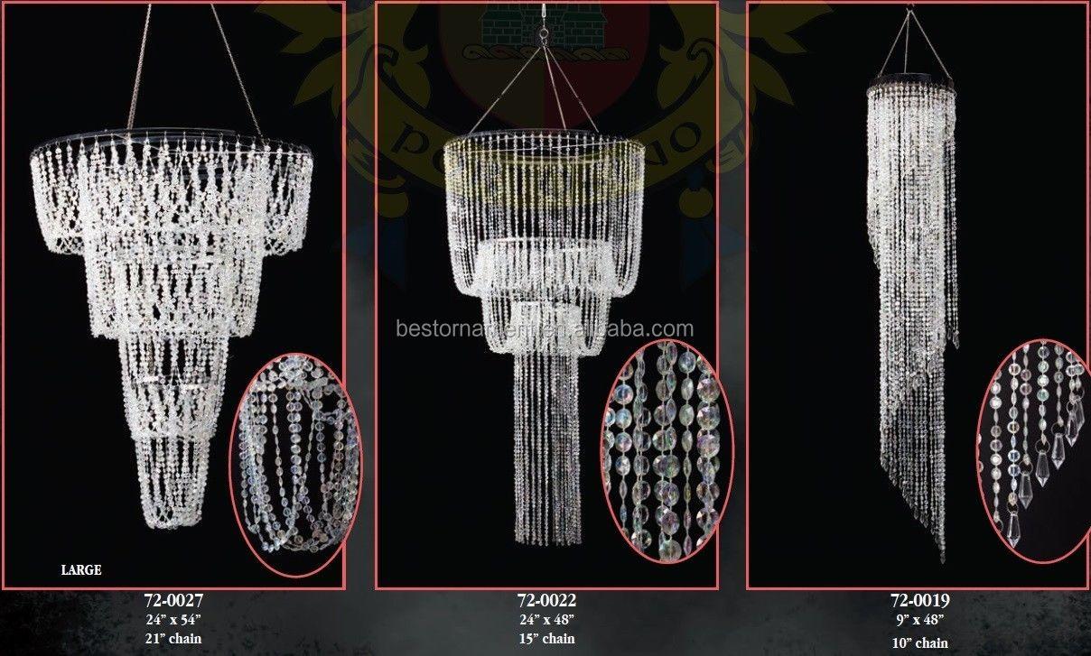 Decorative Acrylic Fancy Jumbo Beaded Chandeliers Buy Chandelier