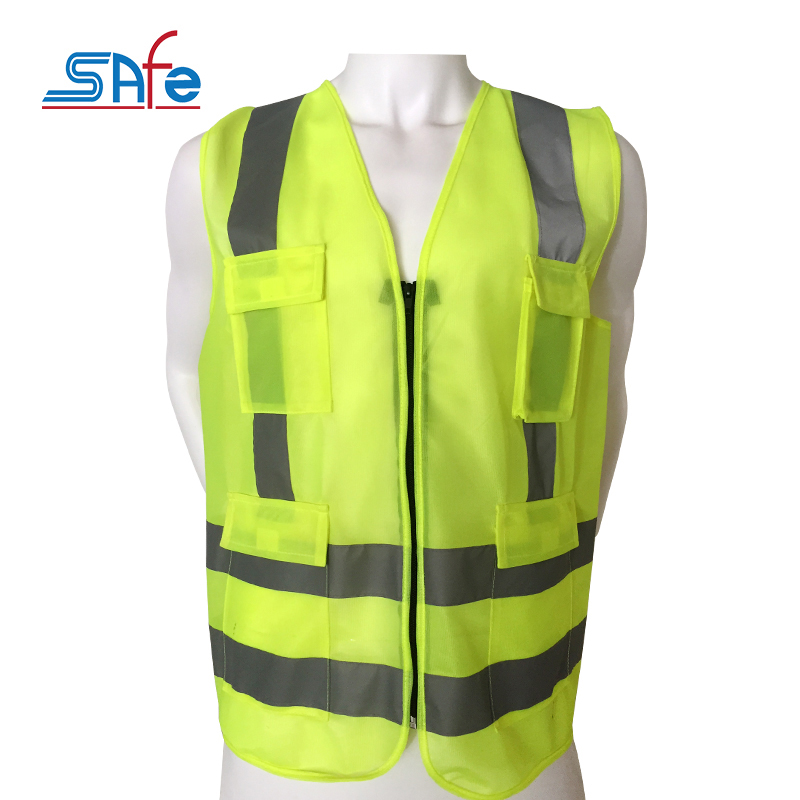 Factory direct provide high visibility clothing safety jacket working pants men multi pocket
