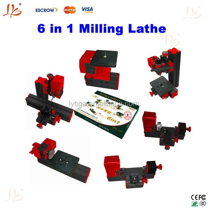 Hot sale!!Jig-saw Grinder Driller 6in1milling lathe