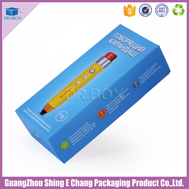 Professional custom recycled paper box for vape pen packaging