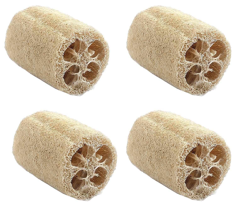 Cheap Natural Raw Loofah Luffa Find Deals Secret Garden Exfoliating Soap Get Quotations Organic 4 Pcs Of Loofa Vegan