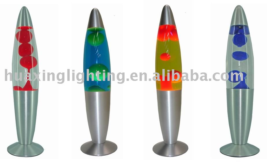 "Silver based - 13""bangalore lava lamp"