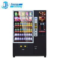 OEM ODM combination snack and coffee vending machine outdoor vending