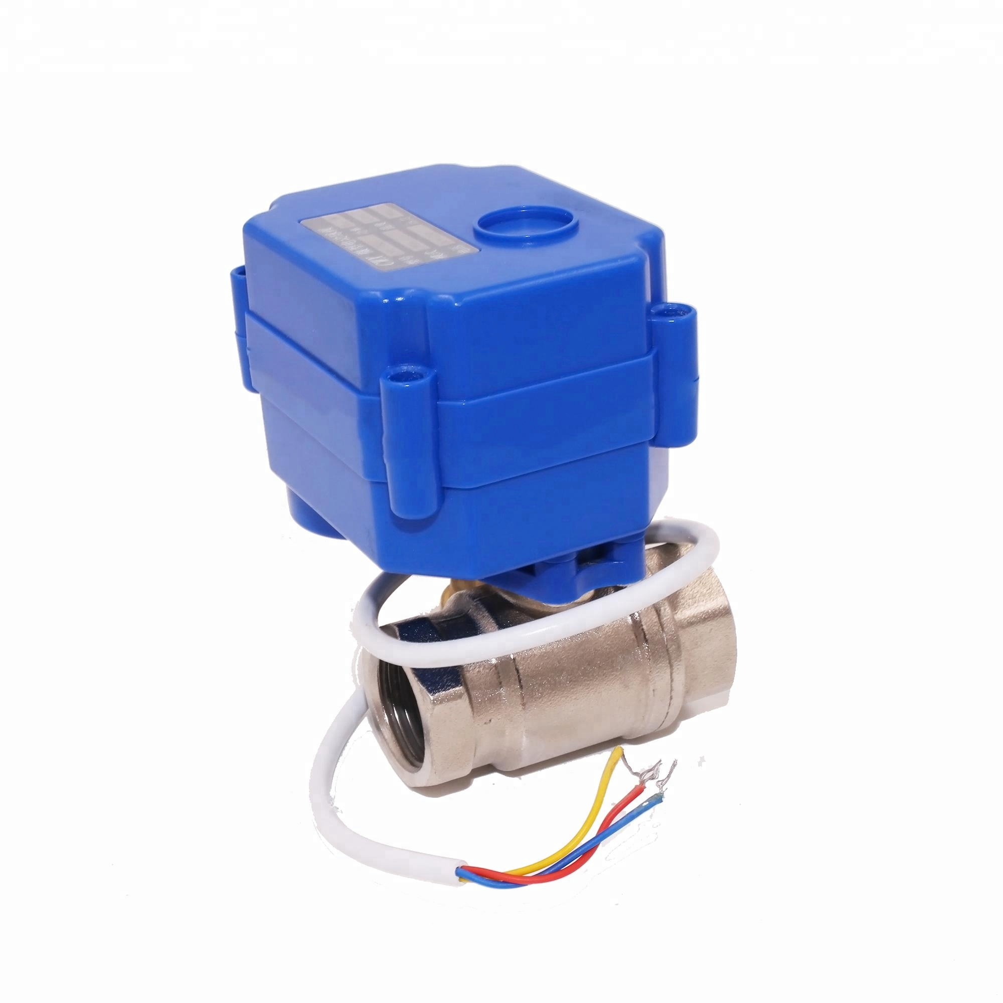 2 way CWX-15N mini electric actuator motor operated ball <strong>valve</strong>