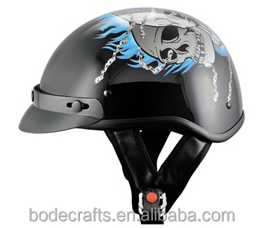 Wholesale ABS helmet motocross DOT safety half face helmets BD-808
