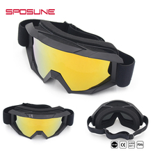 Only Our Patent Detachable Full Face Mask Dustproof Motosport Dirt bike Off-road MX Goggles