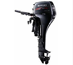 "Suzuki 9.9 HP EFI 4-Stroke Outboard Motor Tiller 20"" Shaft Electric Start Power Tilt"