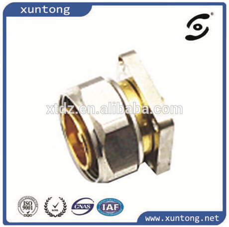 Most popular Gold planted series compression metal cable DIN connector