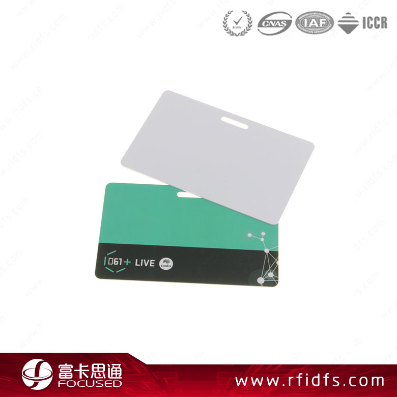 Wholesale business card hole punched RFID smart card