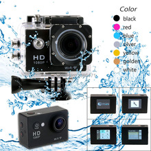 WIFI HD1080P W7 30 Meters Waterproof Sports Camera DV Action Camcorder w/ 1.5 inch LTPS LCD Rechargeable 900mAh Lithium Battery