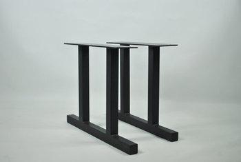 Beau 16 Inch Outdoor Garden Table Leg Metal Iron Double T Shape Bench Leg