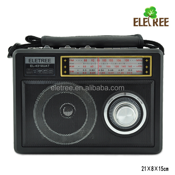 Guangzhou supplier waxiba xb protable radio with torch EL-4319UAT