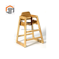 Restaurant Portable Solid Wood Child Safety Seat