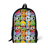 China supply 17 inches school backpack kids travel bags