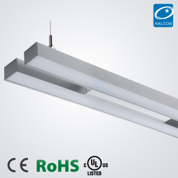 Modern office lighting fixtures led light fitting t8 t5 suspended ceiling light fittings