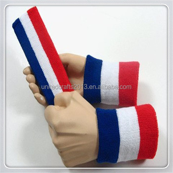 Promotional Cheap Custom Elastic Cotton Tennis Sweatband Wristband ... eb753200141