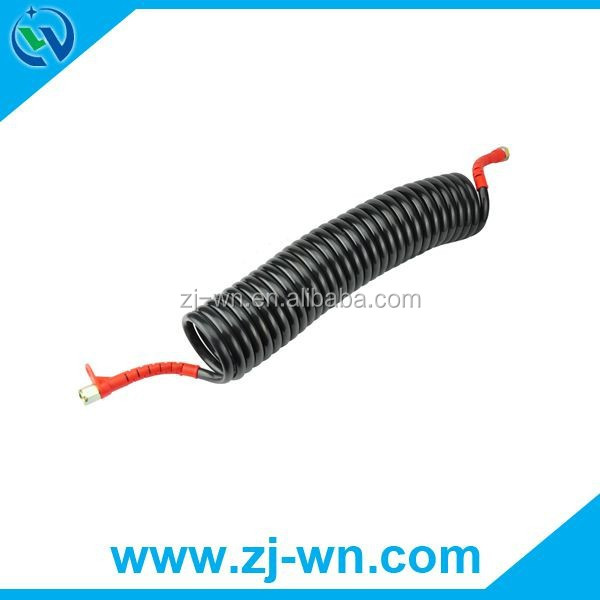 Air spiral brake pneumatic hose