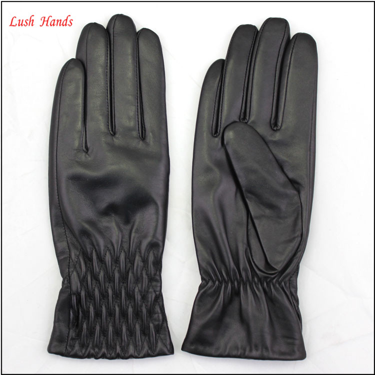 birthday gifts fashion style women dress leather glove