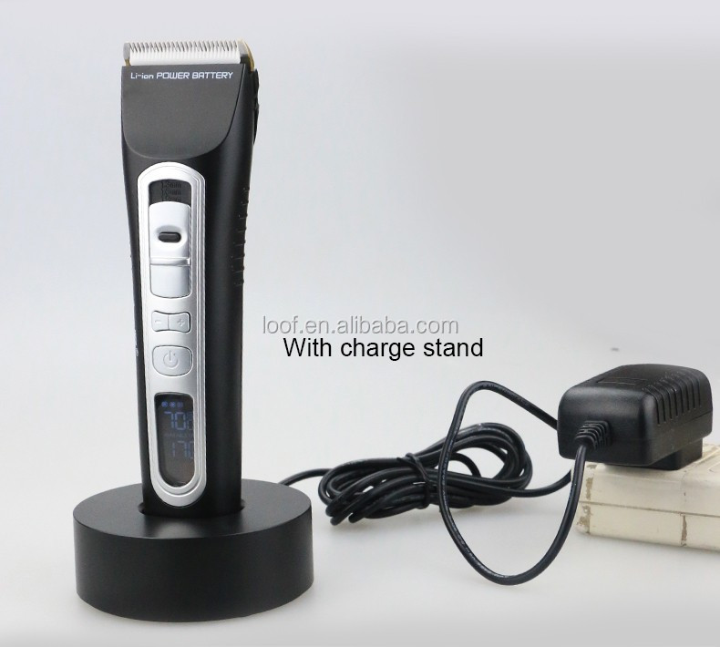 Custom haircut kit modern hair clipper kit with comb inside rechargeable hair clipper