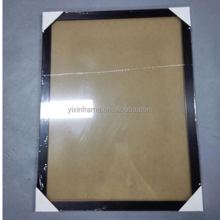 Marco del cartel de plástico bordes a1 a2 a3 a4 tamaño PS marcos de ...