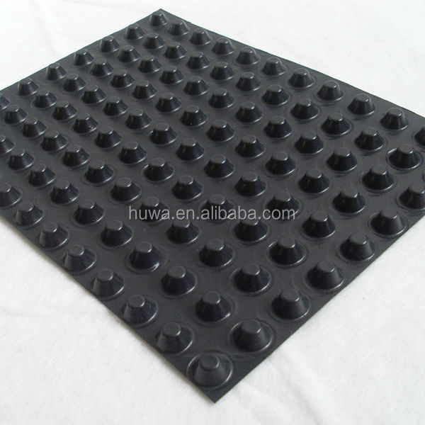 Waterproofing Detail Sheets : Foundation slab moisture barrier hdpe underground basement
