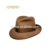 Brown color handmade felted wool hats Men knitted hat wool,wool felt hat