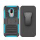 3 in 1 shock proof belt clip heavy duty protective phone case for alcatel 7case