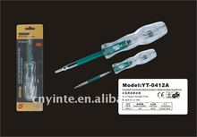 two ways using insulation covering screwdriver detector YT-0412A