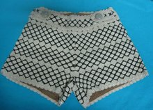 fashion crochet shorts