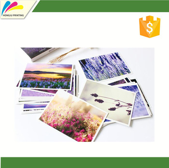 Competitive Price Colorful Customized custom post cards with high quality
