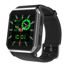 OEM Manufacturer 방수 IP68 MTK6580 3G WIFI GPS 스포츠 Heart Rate Monitor 안드로이드 Bluetooth Men Smart Watch KW06