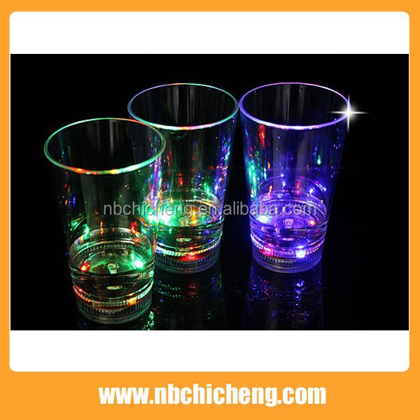 Colorful LED lighting Flash Drinkware Cup