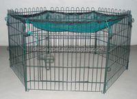 portable pet exercise pen with cover