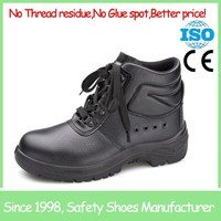 SF855 black steel toe cap mens china safety shoes